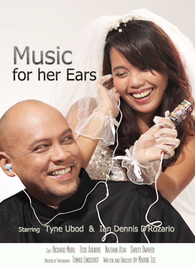 Music for her ears