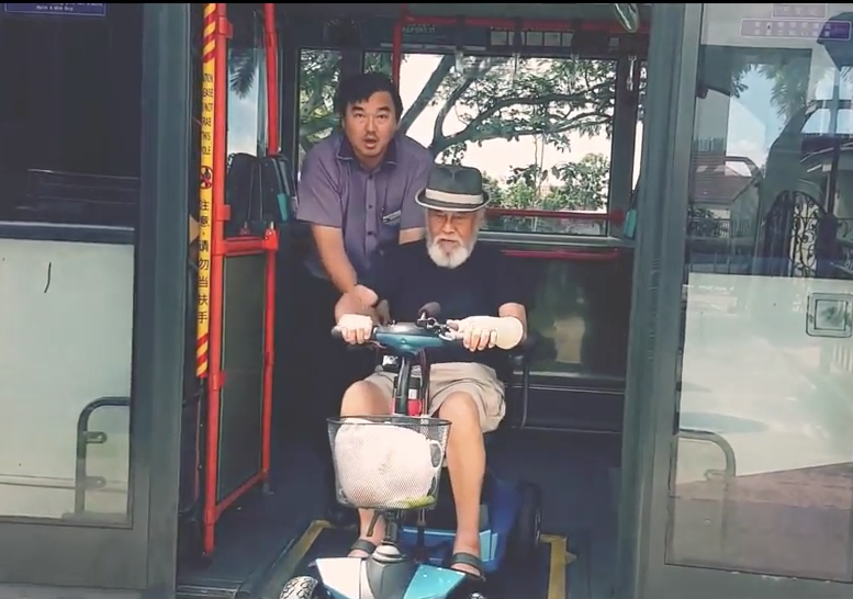 Life with mobility scooter